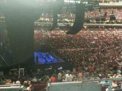 Wells Fargo Center, section: Club Box 22, row: 6, seat: 21