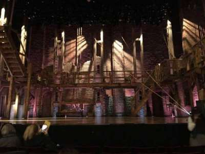 Richard Rodgers Theatre, section: Orch Center, row: E, seat: 106