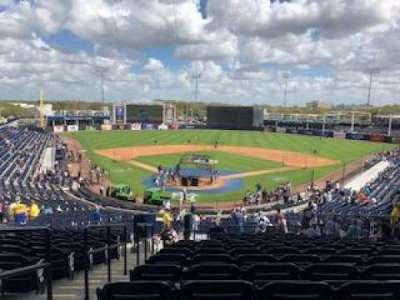 George M. Steinbrenner Field, section: 210, row: O, seat: 24