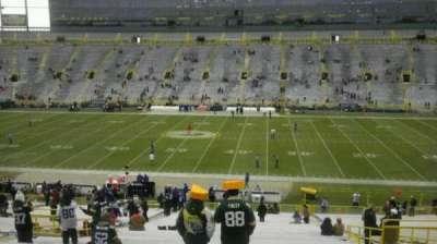 Lambeau Field section 117