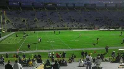 Lambeau Field, section: 114, row: 32