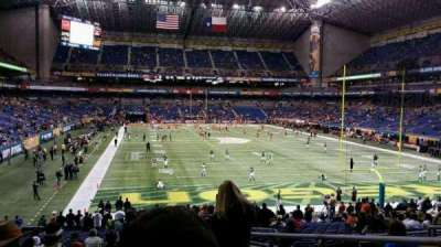 Alamodome, section: 103, row: 27, seat: 4