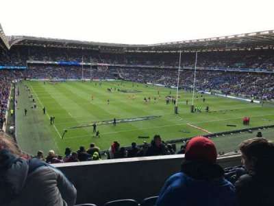 Murrayfield Stadium, section: north, row: N, seat: 16