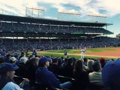 Wrigley Field section 27
