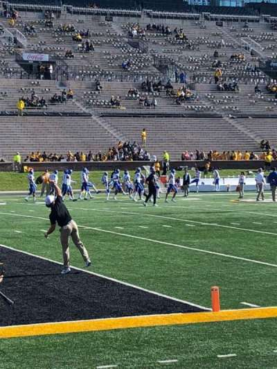 Faurot Field, section: 116, row: 2, seat: 1