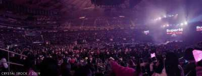 Madison Square Garden, section: 107, row: 5, seat: 3