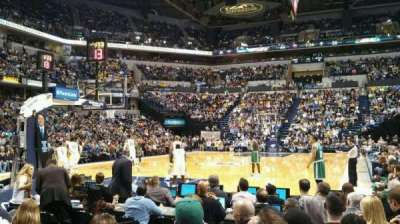 Bankers Life Fieldhouse section 9