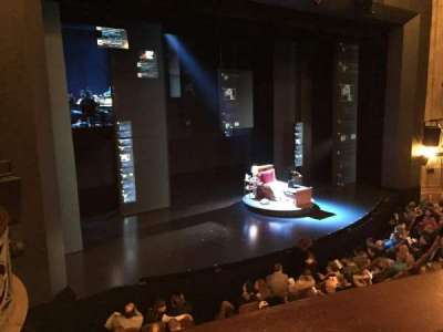 Music Box Theatre, section: Mezzanine Left, row: A, seat: 15