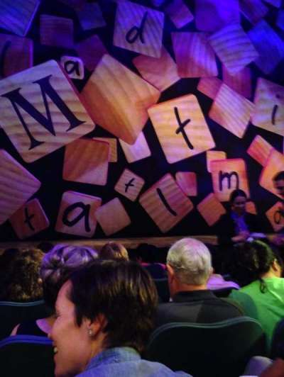 Shubert Theatre, section: Orchestra Center, row: E, seat: 104