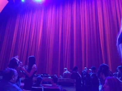 Radio City Music Hall, section: Orchestra 3, row: FF, seat: 314