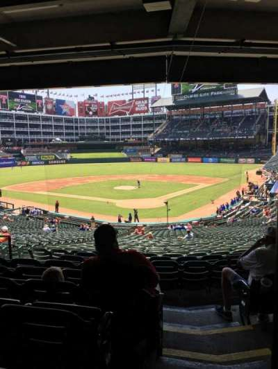 Globe Life Park in Arlington, section: 125, row: 37, seat: 15