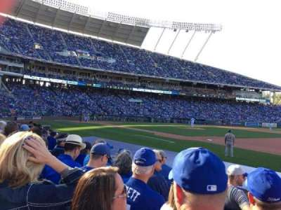 Kauffman Stadium section 138