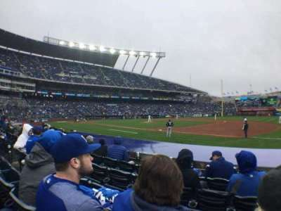 Kauffman Stadium, section: 138, row: E, seat: 10