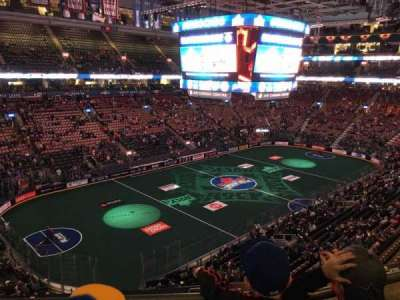 Air Canada Centre, section: 312, row: 2, seat: 10