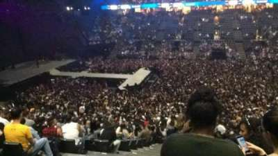AccorHotels Arena section O