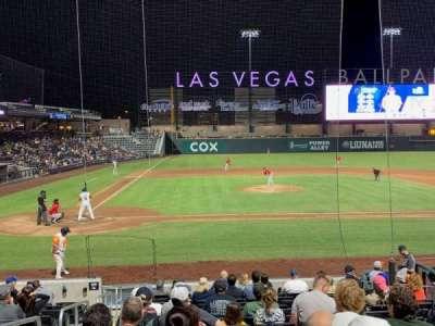 Las Vegas Ballpark, section: 108, row: Q, seat: 2