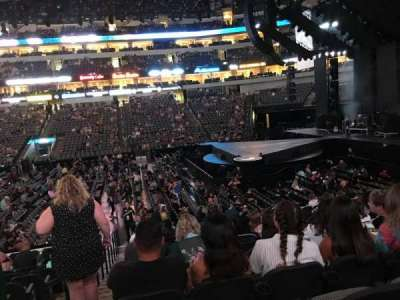 American Airlines Center, section: 105, row: R, seat: 18