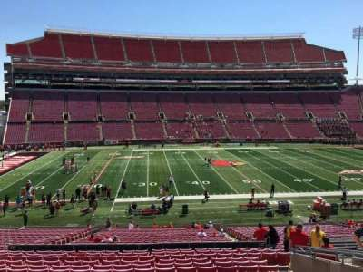 Papa John's Cardinal Stadium, section: 232, row: S, seat: 109