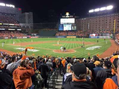 Oriole Park at Camden Yards, section: 38, row: 23
