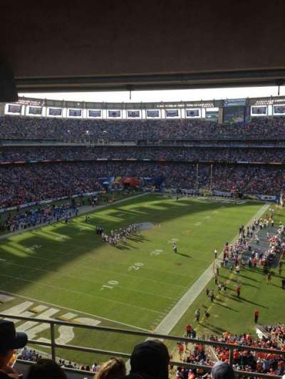Qualcomm Stadium, section: T56, row: 4, seat: 7,8