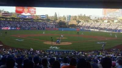 Dodger Stadium, section: Field Level, row: Standing