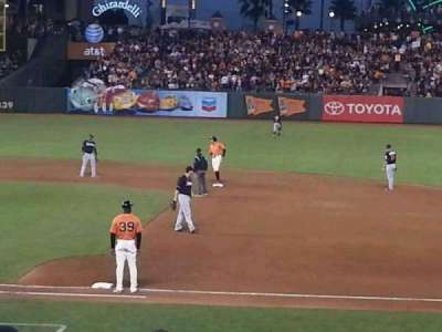 AT&T Park, section: 107, row: N, seat: 5