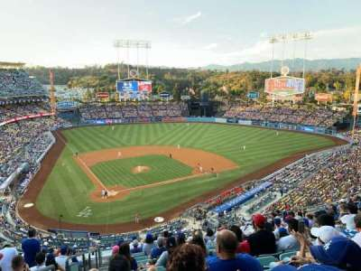 DODGER STADIUM section 6RS