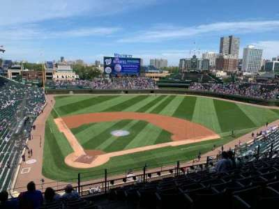 Wrigley Field section 320R