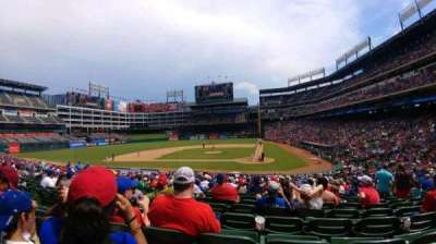 Globe Life Park in Arlington, section: 22, row: 25, seat: 8