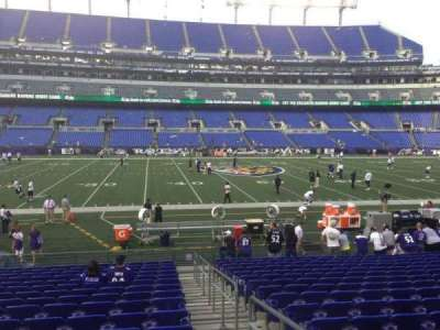 M&T Bank Stadium section 128