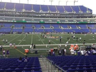 M&T Bank Stadium section 128