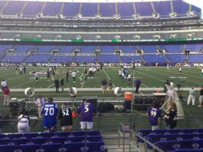 M&T Bank Stadium section 126