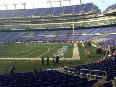 M&T Bank Stadium section 121