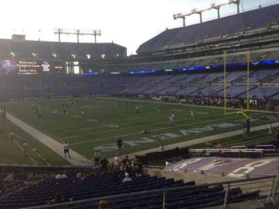 M&T Bank Stadium section 117