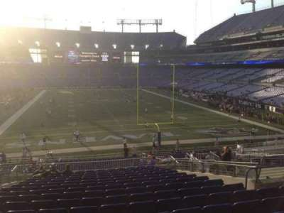 M&T Bank Stadium section 114