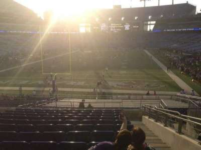 M&T Bank Stadium section 112