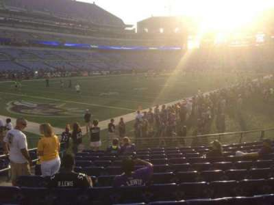 M&T Bank Stadium section 111