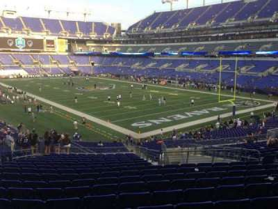 M&T Bank Stadium section 144