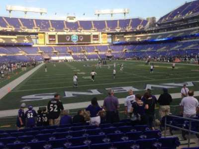 M&T Bank Stadium section 142