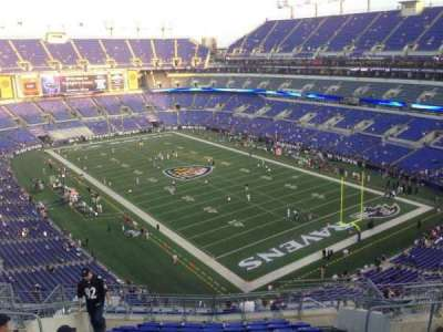 M&T Bank Stadium section 545