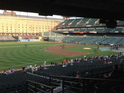 Oriole Park at Camden Yards section 65