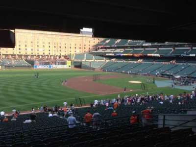 Oriole Park at Camden Yards section 64