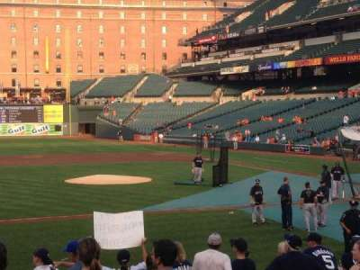 Oriole Park at Camden Yards section 52