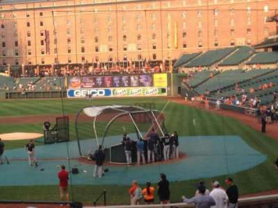 Oriole Park at Camden Yards, section: 44, row: 22, seat: 6