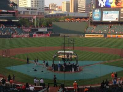 Oriole Park at Camden Yards, section: 35, row: 4, seat: 10