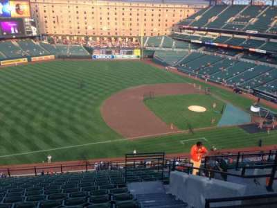 Oriole Park at Camden Yards section 360