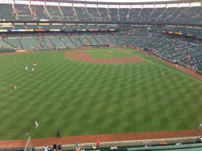Oriole Park at Camden Yards, section: 388, row: 3, seat: 12