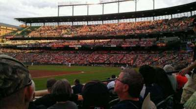 Oriole Park at Camden Yards, section: 60, row: 4, seat: 6