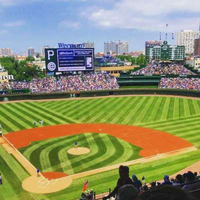 Wrigley Field section 420R