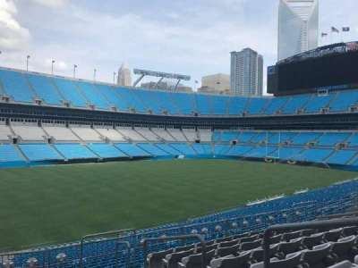 Bank of America Stadium, section: 348, row: 8, seat: 1